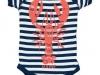 Vintage Lobster onesie WandS