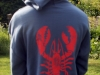 vintage lobster sweatshirt