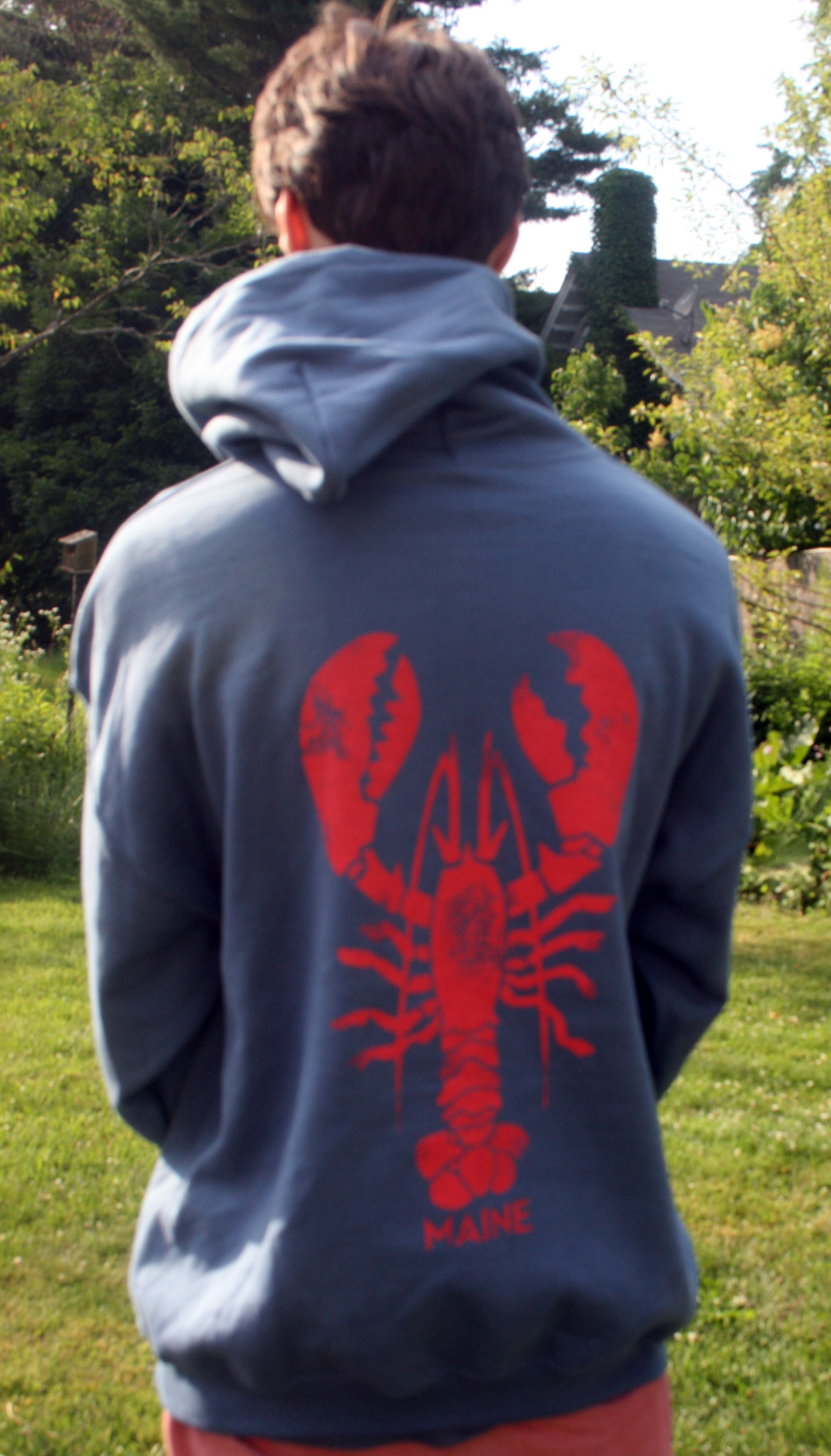 vintage lobster sweatshirt