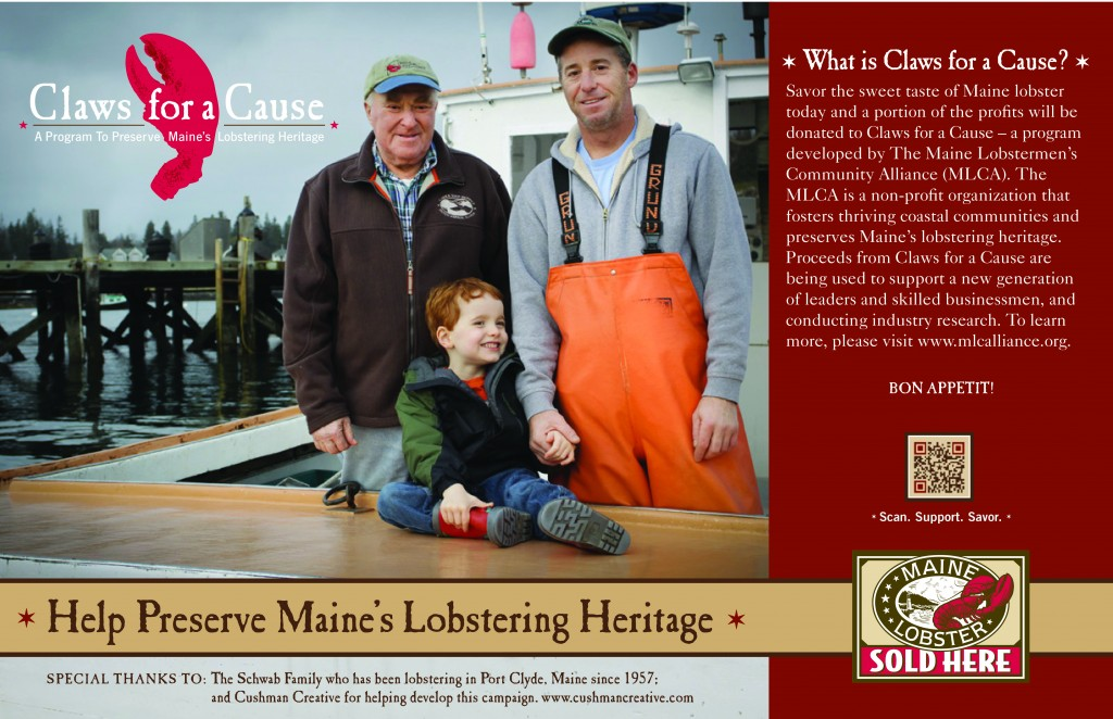 Claws for a Cause: a program to preserve Maine's lobstering heritage.