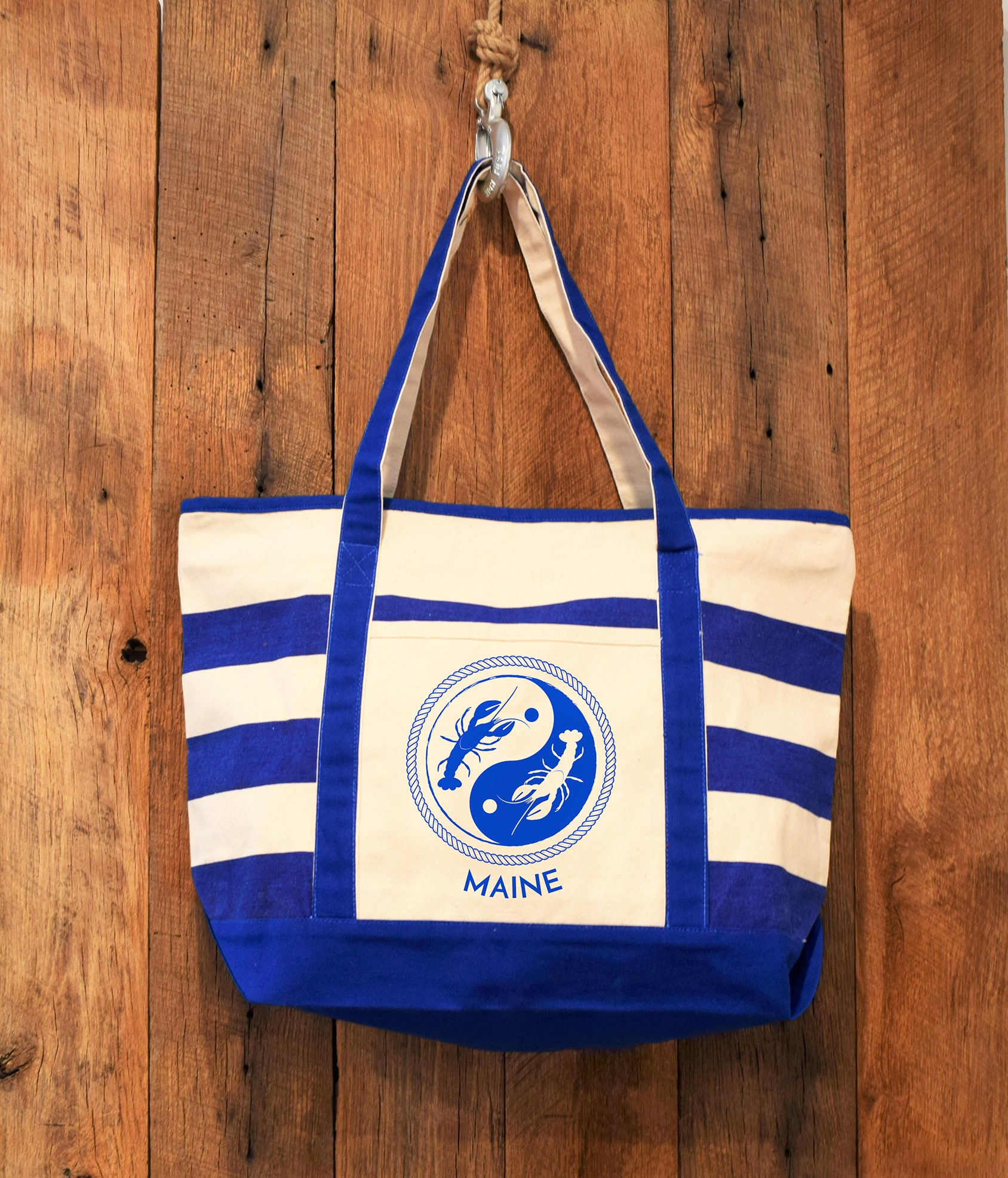 maine-ying-yang-royal-blue-stripe-smaller-beach-bag